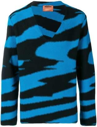 Missoni intarsia knitted jumper