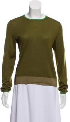 Prada Long Sleeve Knit Sweater