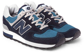 New Balance 576 Suede, Leather and Mesh Sneakers