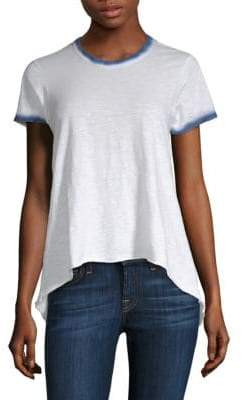 Wilt Shrunken Boyfriend Spray Edge Tee