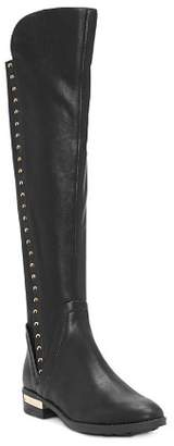 Vince Camuto Women's Pardonal Studded Leather Riding Boots