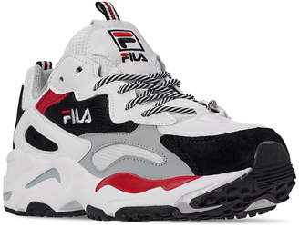 Fila Men Ray Tracer Casual Athletic Sneakers from Finish Line
