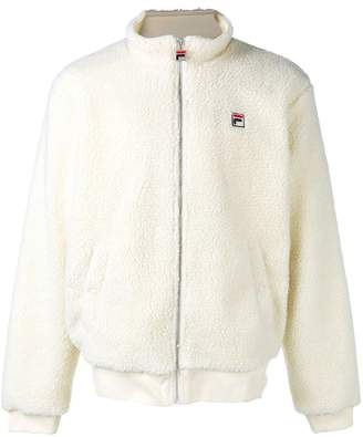 Fila zipped fitted jacket
