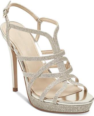 Marc Fisher Jaslyn Caged Platform Dress Sandals Women's Shoes