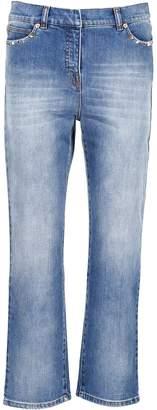 Valentino Rockstud Untitled Denim Jeans