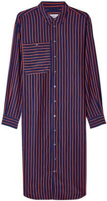 Closed Abiola Striped Shirt Dress with Silk