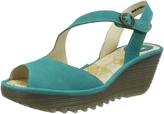 Fly London Womens Yamp 836 Nubuck Sandals 39 EU