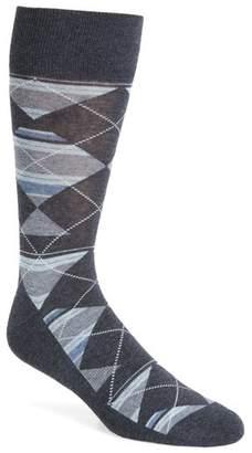 Nordstrom Multistripe Argyle Socks