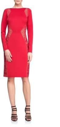 Tadashi Shoji Long Sleeve Dress