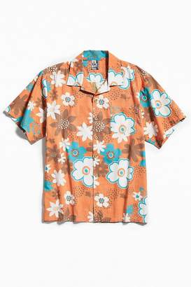 Chums Aloha Floral Short Sleeve Button-Down Shirt