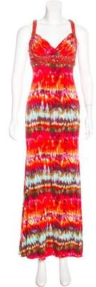 Jovani Tie-Dye Evening Dress