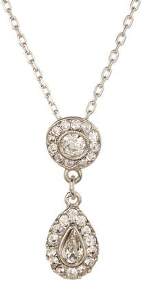 Ben-Amun Ben Amun Crystal Teardrop Pendant Necklace