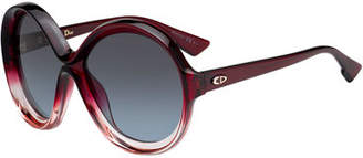 Christian Dior DiorBianca Two-Tone Butterfly Sunglasses