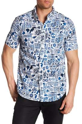 Trunks Surf and Swim CO. Allover Print Shirt