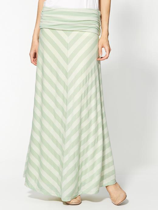 Sorbet Hive & Honey Foldover Knit Maxi Skirt