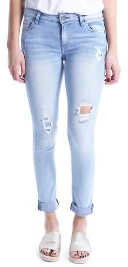 Kut Kollection Catherine Distressed Boyfriend Jeans