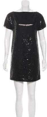 Robert Rodriguez Sequin Mini Dress
