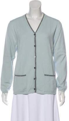 Luciano Barbera Cashmere Button-Up Cardigan