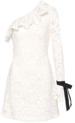 Philosophy Di Lorenzo Serafini One-shoulder lace dress