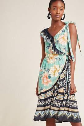 Anthropologie Farm Rio For Farm Rio Monica Wrap Dress