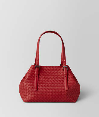 a250f923ac Free Standard Shipping at Bottega Veneta · Bottega Veneta CHINA RED  INTRECCIATO NAPPA TOTE