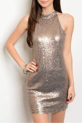 Alythea Sparkle Sleeveless Dress