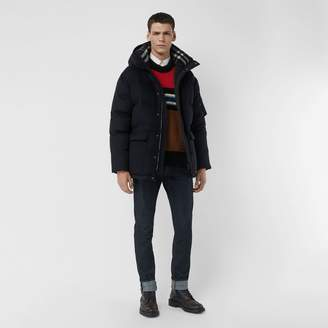 Burberry Cashmere Down-filled Hooded Jacket