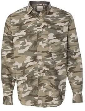 Weatherproof Vintage Camo Long Sleeve Shirt 154622 2XL