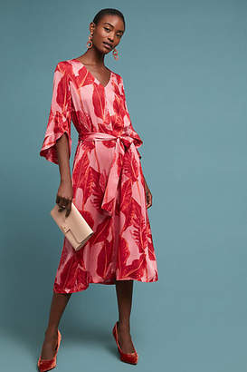 Just Female Belted Palm Dress