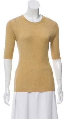 Michael Kors Metallic Knit Top