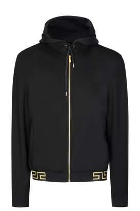 Versace Greca Hem Jacket