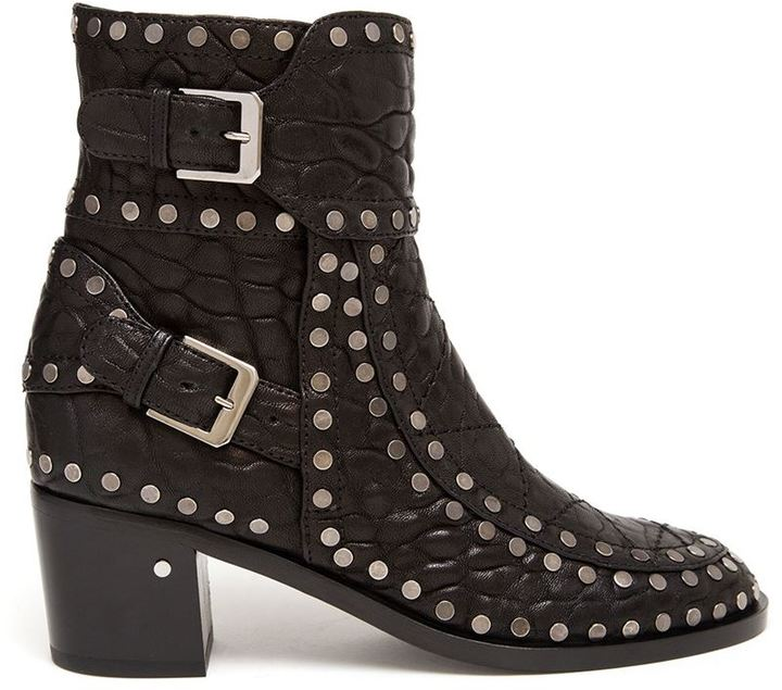 Laurence Dacade studded leather 'Gatsby' boots