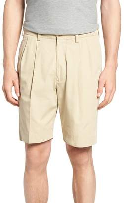 Bills Khakis M2 Classic Fit Pleated Tropical Cotton Poplin Shorts