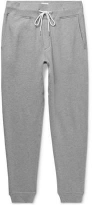 Rag & Bone Slim-Fit Tapered Mélange Cotton-Blend Jersey Sweatpants