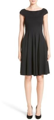 Women's Armani Collezioni Off The Shoulder Fit & Flare Dress $845 thestylecure.com