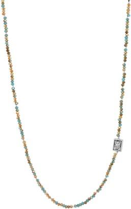 My Saint My Hero Lord's Prayer Morse Code Necklace