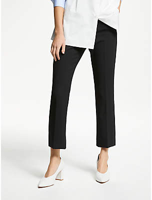 Max Mara Weekend Cigarette Trousers, Black