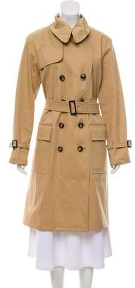 Giorgio Armani Long Trench Coat
