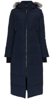 Canada Goose Mystique fur trim coat