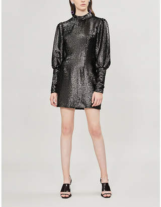 DE LA VALI Jane sequinned mini dress