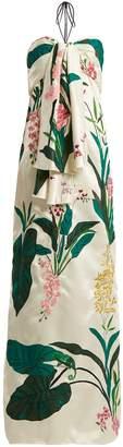 JOHANNA ORTIZ Market Gardens halter-neck dress