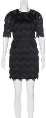 Femme D'armes Andrea Fringe Dress w/ Tags