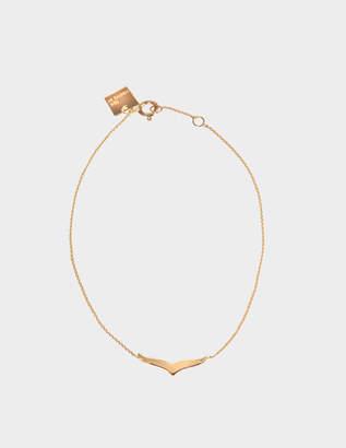ginette_ny Wise 18-karat rose gold bracelet