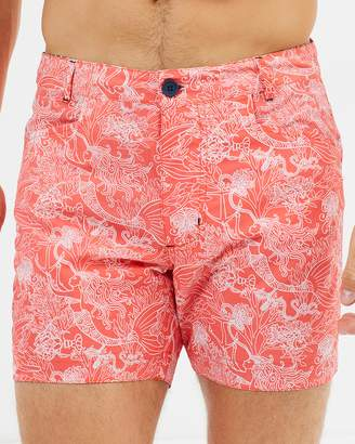 The Rocks Push Shelly Slim-Fit Beach Shorts