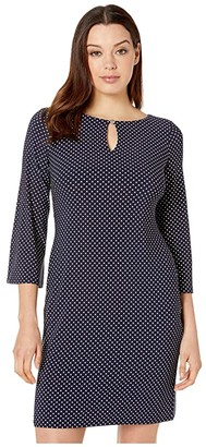 Lauren Ralph Lauren Monahan Darby Dot Dress