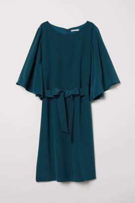 H&M Silk Dress - Turquoise