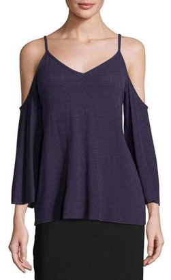 Bailey 44 Genie Cold-Shoulder Sweater, Amethyst $168 thestylecure.com