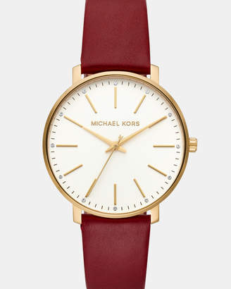 Michael Kors Pyper Red Analogue Watch