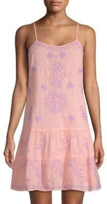 Felina Roller Rabbit Neapolitan Archipelago Embroidered Sundress
