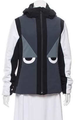 Fendi Monster Eye Ski Coat